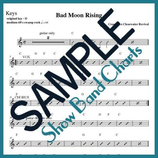 Bad Moon Rising - CCR